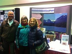 Terry, Angie, & Jasmine at KBRR booth