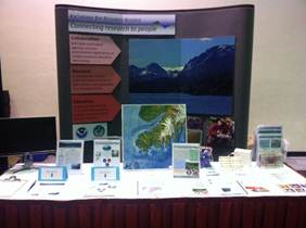 KBRR booth at AMSS in Anchorage