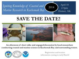 April 10- Igniting Knowledge_Kachemak Bay